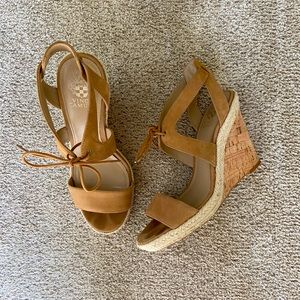 Vince Camuto Cork Wedge Size 9.5